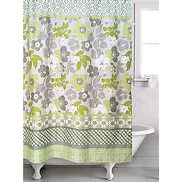 Famous Homereg 2 Piece Lindsey Shower Curtain And Liner Set In Lime