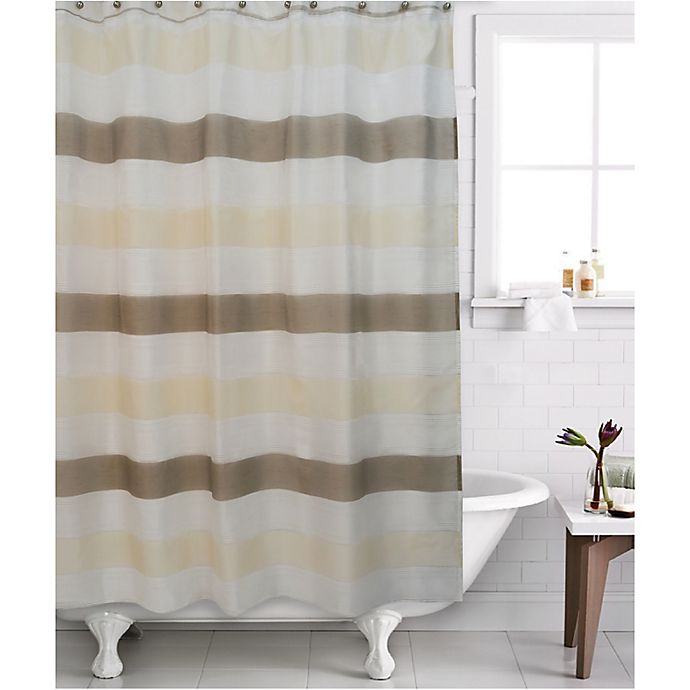 Alternate image 1 for Famous Home® 2-Piece Neo Shower Curtain and Liner Set in Cream