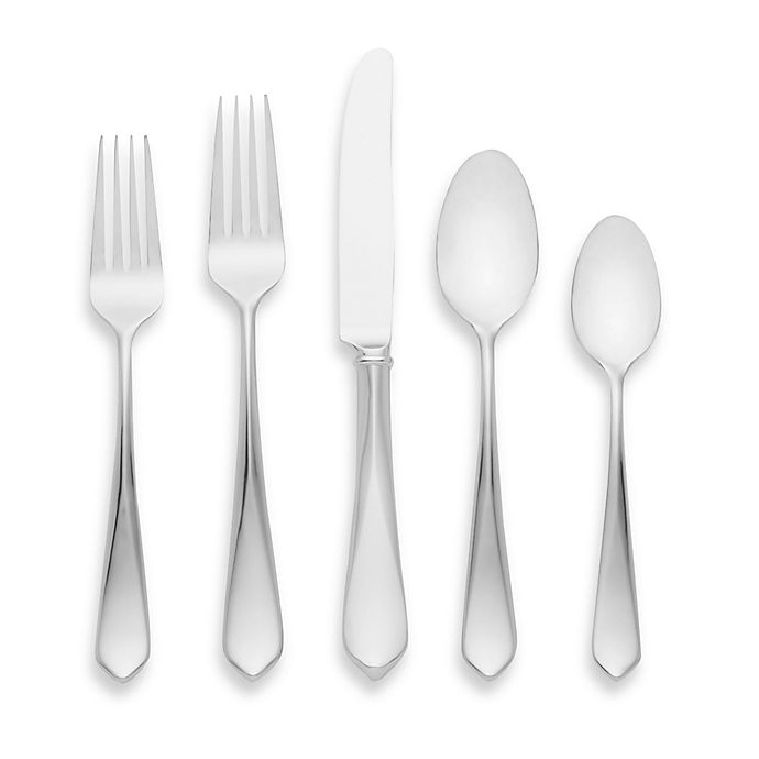 Alternate image 1 for kate spade new york Magnolia Drive™ 5-Piece Flatware Place Setting