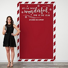 Most Wonderful Time of the Year 58-Inch x 90-Inch Photo Backdrop