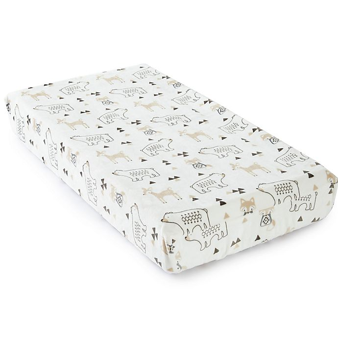 Alternate image 1 for Levtex Baby® Bailey Plush Changing Pad Cover
