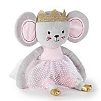 Levtex Baby® Elise Plush Princess Mouse Toy in Grey/Pink