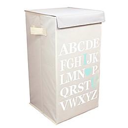Dazz ABC I Love Your Flip-Top Laundry Hamper