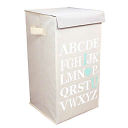 Dazz ABC I Love Your Flip-Top Laundry Hamper