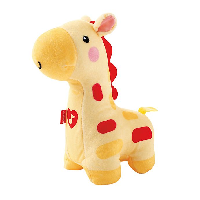 Alternate image 1 for Fisher-Price® Soothe & Glow Giraffe Soother in Yellow