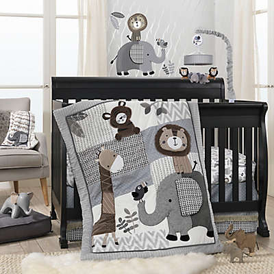 Lambs & Ivy® Urban Jungle Crib Bedding Collection in Grey/White