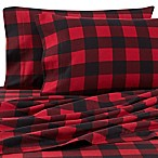 The Seasons Collection® HomeGrown™ Buffalo Plaid Queen Flannel Sheet Set