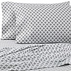 The Seasons Collection® HomeGrown™ Medallion Full Flannel Sheet Set