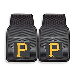 MLB Pittsburgh Pirates Vinyl Car Mats (Set of 2)