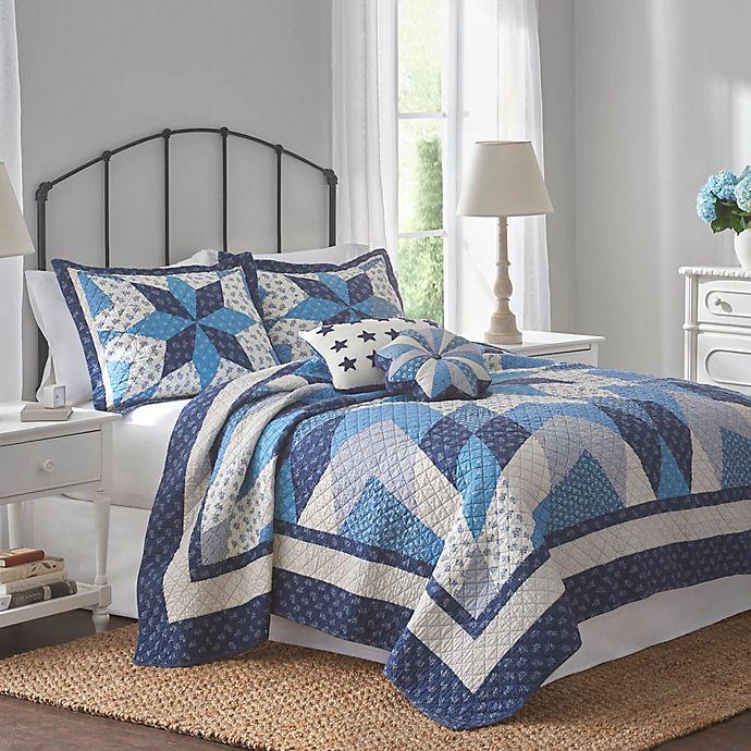 Coverlet Nathan 100/% COTTON Quilt Set Bedspread