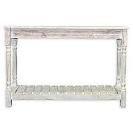 Coastal Collection Console Table in White