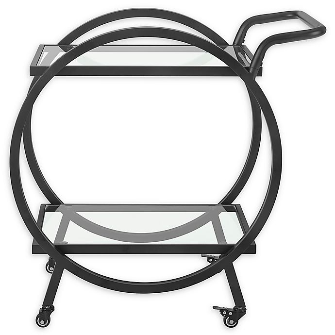 Alternate image 1 for Forest Gate 32-Inch Round Frame Serving Cart