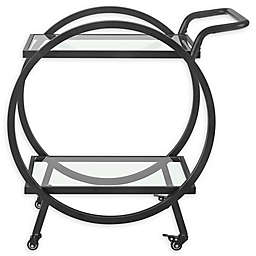 Forest Gate 32-Inch Round Frame Serving Cart