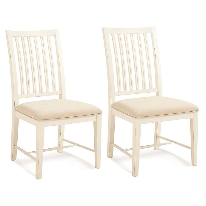 Alternate image 1 for Palmetto Home Select Hardwoods Upholstered Dining Chairs (Set of 2)