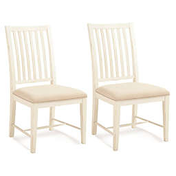 Palmetto Home Select Hardwoods Upholstered Dining Chairs (Set of 2)