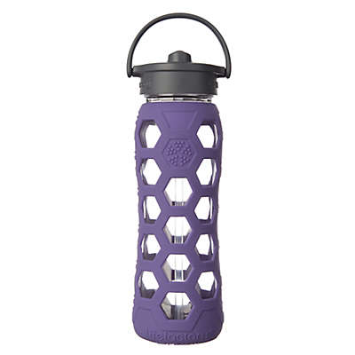 Lifefactory® 22 oz. Glass Water Bottle with Straw Cap