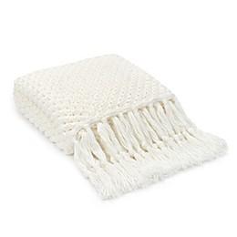 UGG® Poppy Throw Blanket in Snow