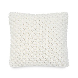 UGG® Poppy 20-Inch Square Throw Pillow in Snow