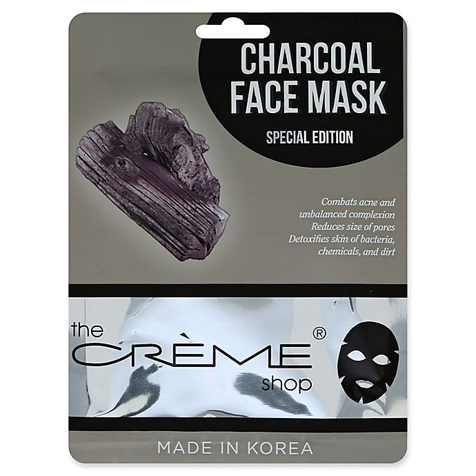 Alternate image 1 for The Crème Shop® Charcoal Face Mask Special Edition