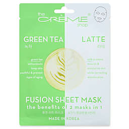 The Crème Shop® 2-in-1 Green Tea Latte Fusion Face Mask