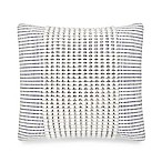 UGG® Oceanside 20-Inch Square Throw Pillow in Snow/Navy