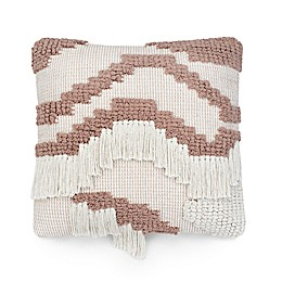 UGG® Lunada Fringe 20-Inch Square Throw Pillow in Snow