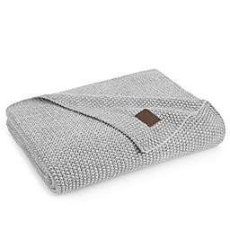 UGG® Summer Knit Throw Blanket in Grey