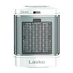 Lasko® Ceramic Bathroom Heater with Fan in White