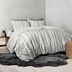 UGG® Nomad Tencel® Lyocell Striped Reversible Queen Duvet Cover in Grey
