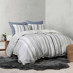 UGG® Nomad Tencel® Lyocell Striped Reversible Duvet Cover