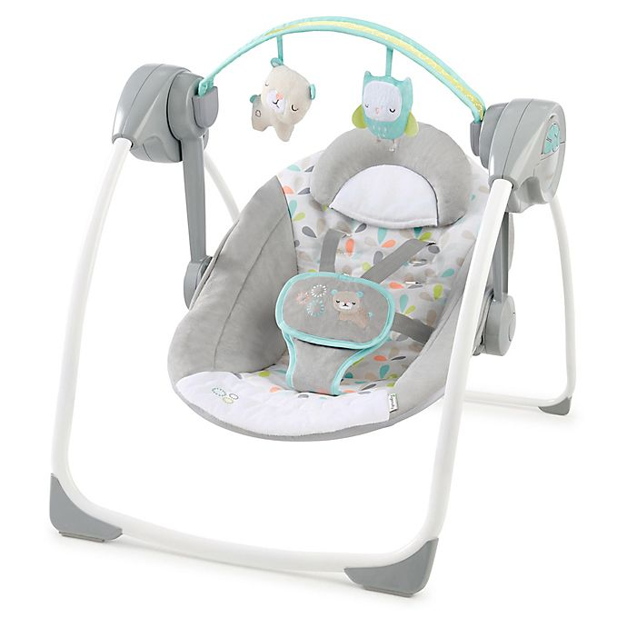 Alternate image 1 for Ingenuity™ Fanciful Forest Comfort 2 Go Portable Swing
