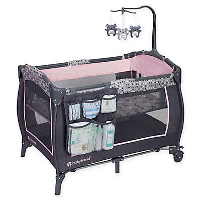 Baby Trend® Trend-E Nursery Center Playard in Starlight Pink