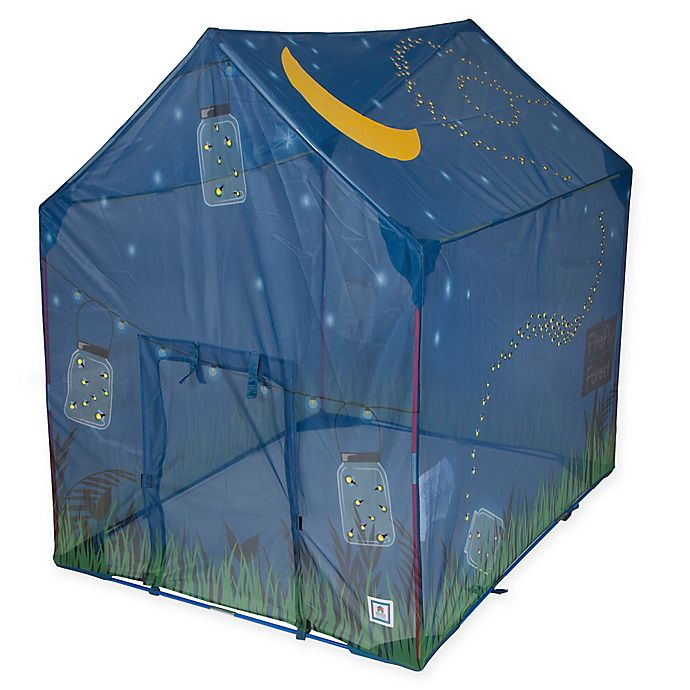 Alternate image 1 for Pacific Play Tents Glow in the Dark Firefly House Tent