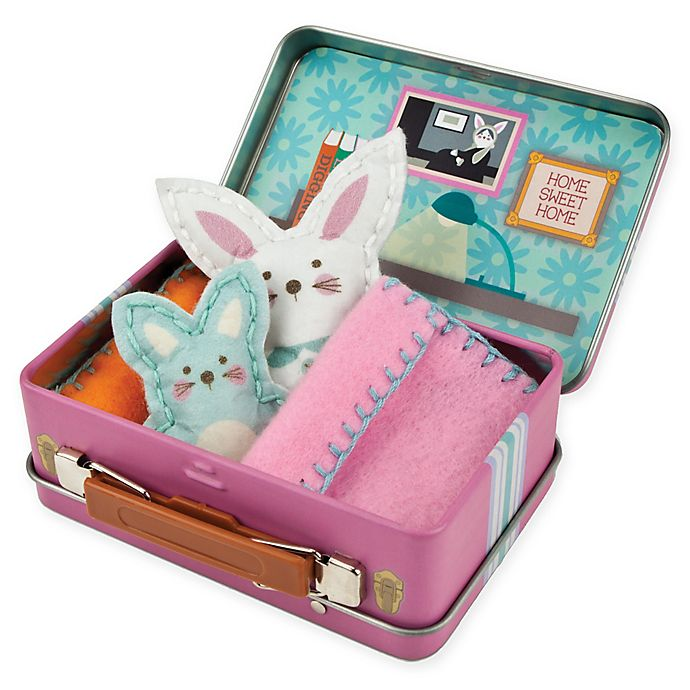 Alternate image 1 for My Studio Girl™ Make-Your-Own Travel Buddies Bunny
