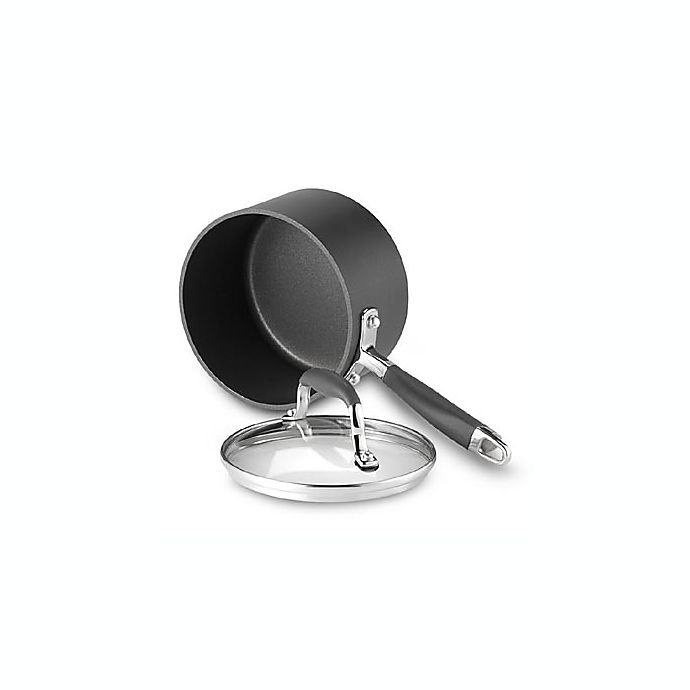 Alternate image 1 for Anolon® Advanced Hard Anodized Nonstick 2 qt. Covered Saucepan