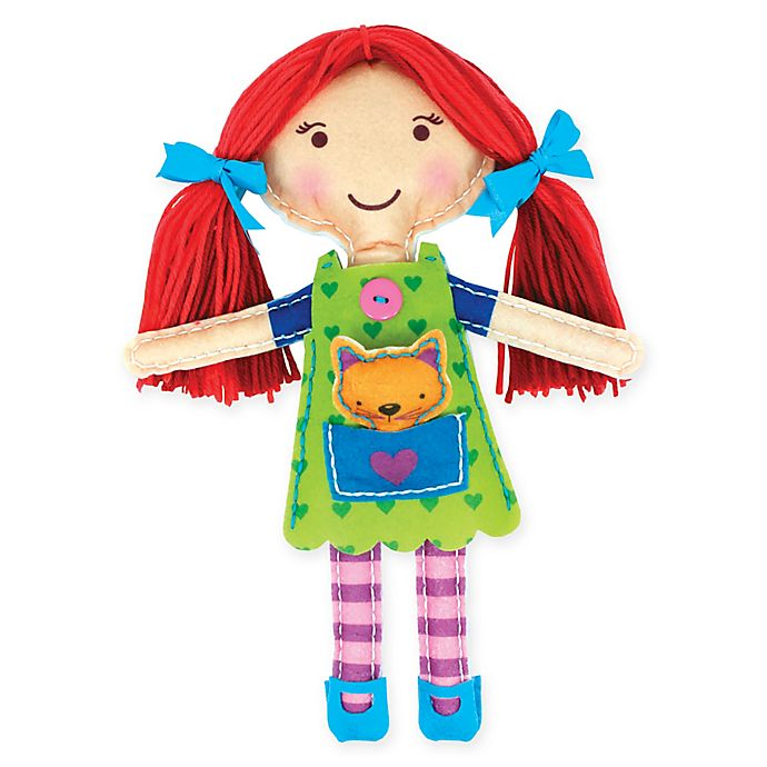 Alternate image 1 for My Studio Girl™ Sew-Your-Own My Best Friend with Red Hair