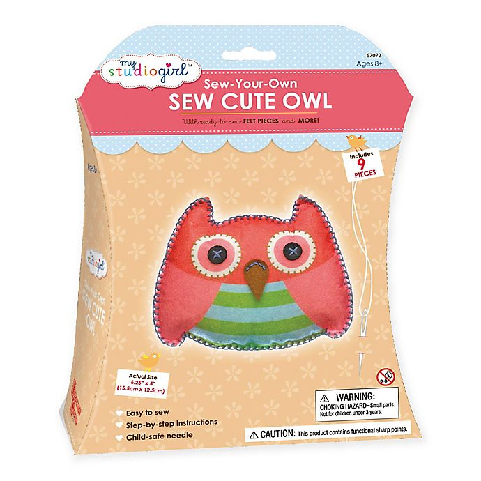 Alternate image 1 for My Studio Girl™ Sew-Your-Own Sew Cute Owl