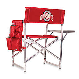 NCAA Red Collegiate Folding Sports Chair - Ohio State