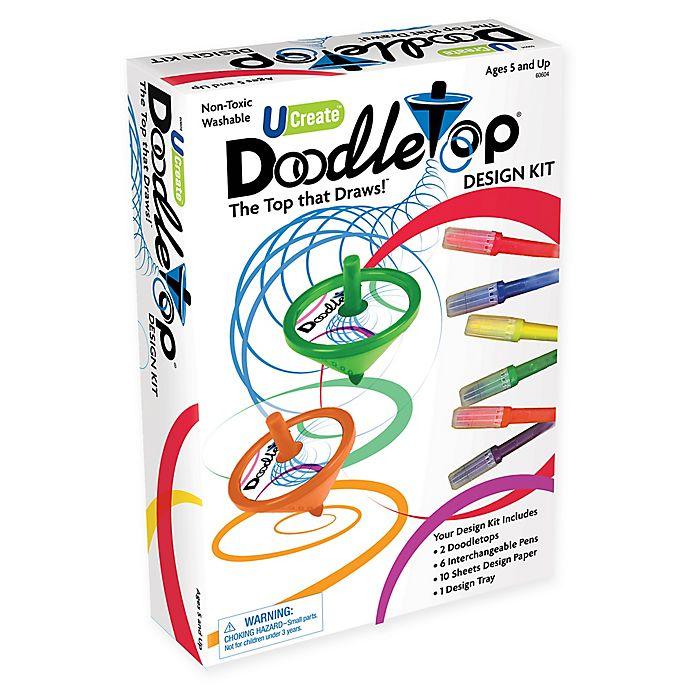 Alternate image 1 for U-Create Doodletop Design Kit