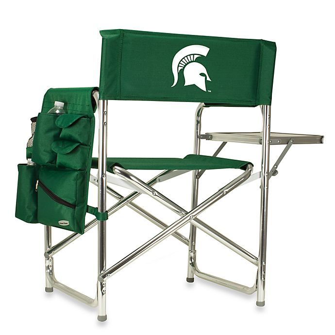 Alternate image 1 for NCAAMichigan State University Green Collegiate Folding Sports Chair