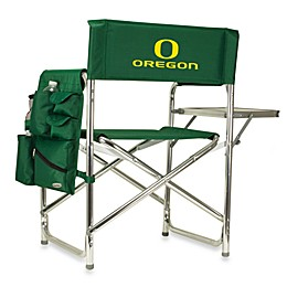 NCAA University of Oregon Collegiate Folding Sports Chair in Green