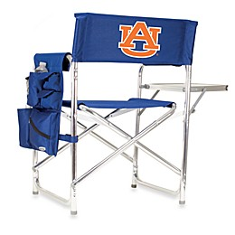 NCAA Auburn University Collegiate Folding Sports Chair in Navy Blue