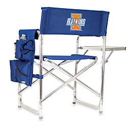 NCAA University of Illiniois Collegiate Folding Sports Chair in Navy Blue