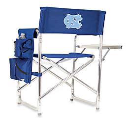 NCAA Navy Blue Collegiate Folding Sports Chair - University of North Carolina