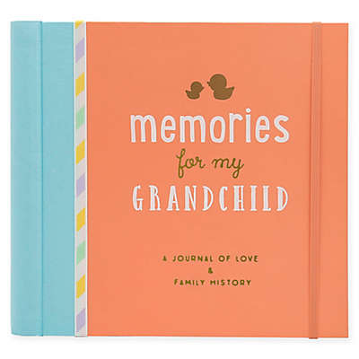 "Little Blossoms by Pearhead® ""Memories for My Grandchild"" Baby Journal"