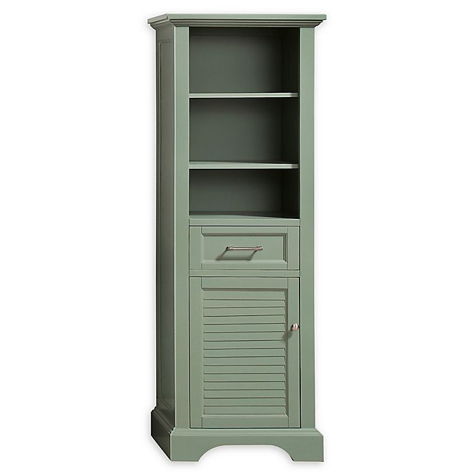 Avanity Colton Linen Tower In Basil Bed Bath Beyond