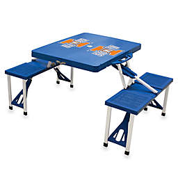 Picnic Time® University of Illinois Collegiate Foldable Table with Seats