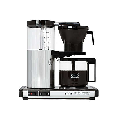 Technivorm Moccamaster CDG Coffee Brewer in Polished Silver