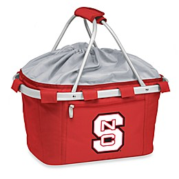 NCAA North Carolina State University Collegiate Metro Basket in Red