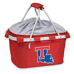 Picnic Time® LLouisiana Tech University Collegiate Metro Basket in Red